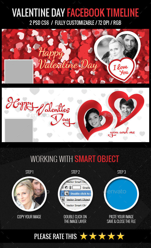 Valentine Day Facebook Cover
