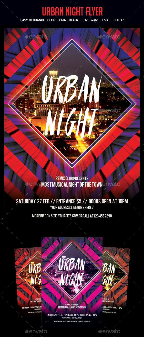 Urban Night Flyer