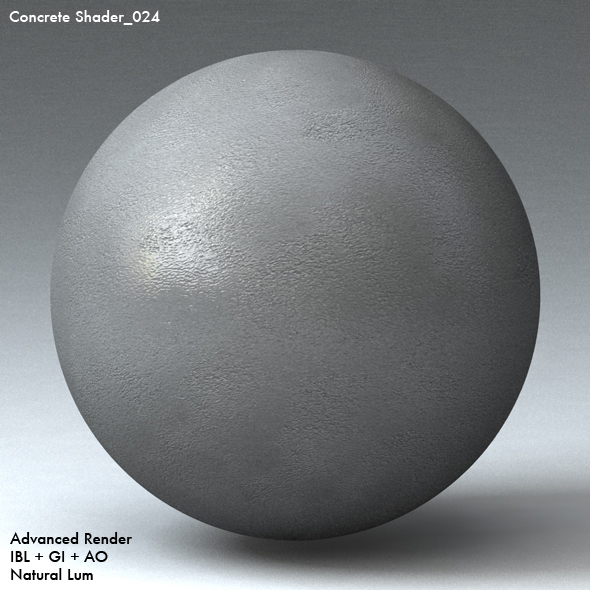 Concrete Shader_024 - 3DOcean Item for Sale