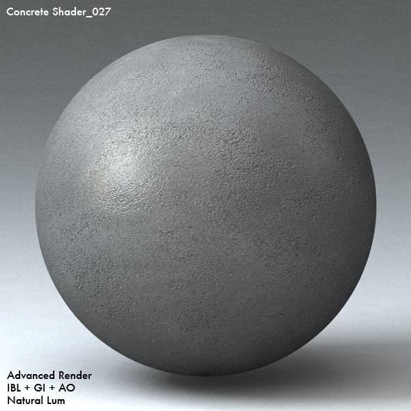 Concrete Shader_027 - 3DOcean Item for Sale
