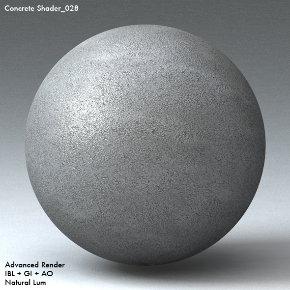 Concrete Shader_028 - 3DOcean Item for Sale