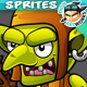 Goblins 2D Game Character Sprites 183