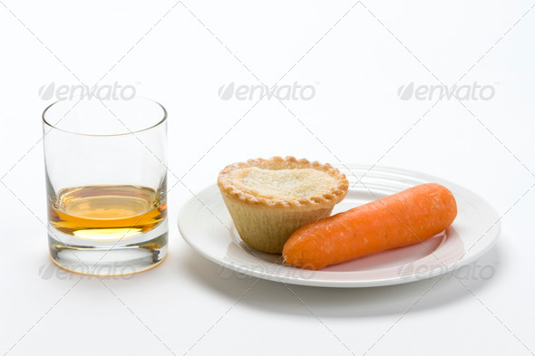 christmas food offering for santa and rudolph - Stock Photo - Images