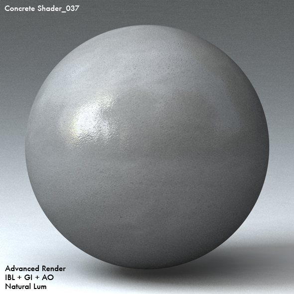 Concrete Shader_037 - 3DOcean Item for Sale