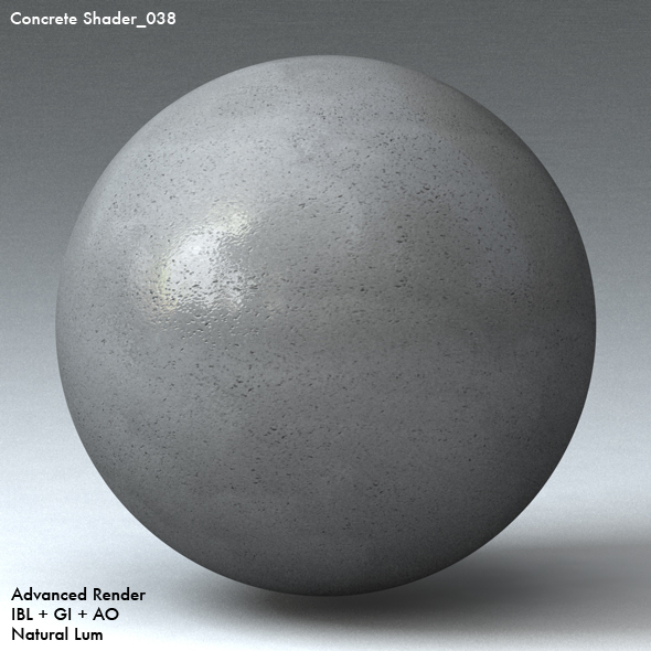 Concrete Shader_038 - 3DOcean Item for Sale