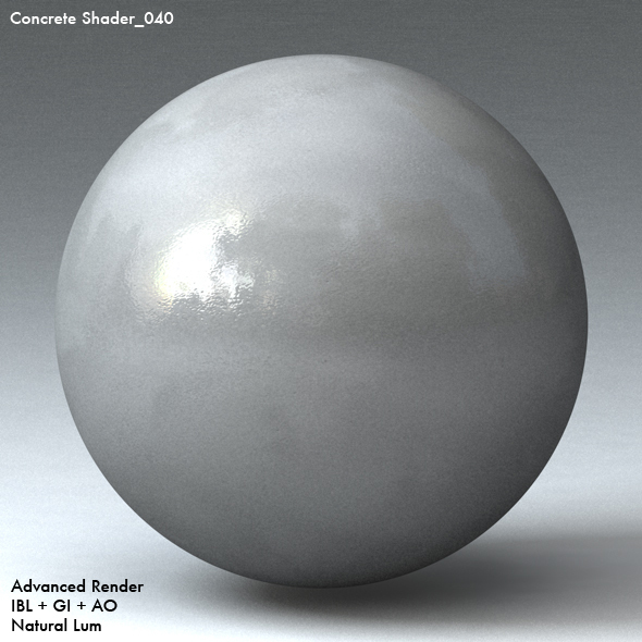 Concrete Shader_040 - 3DOcean Item for Sale
