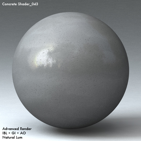 Concrete Shader_043 - 3DOcean Item for Sale