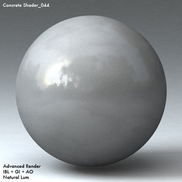 Concrete Shader_044 - 3DOcean Item for Sale