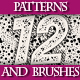 Set of Handmade Texture Pattern and Brushes, 3