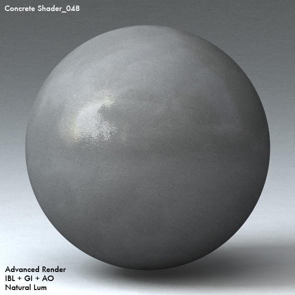 Concrete Shader_048 - 3DOcean Item for Sale