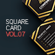 Square Business Card 7