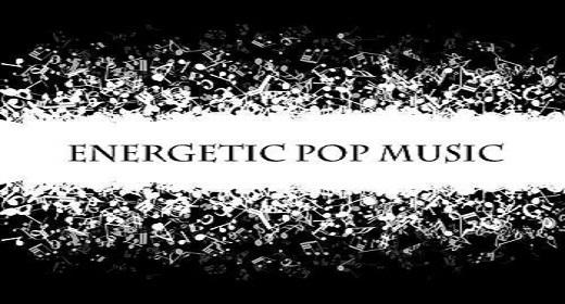 energetic pop music