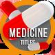 Medicine Titles