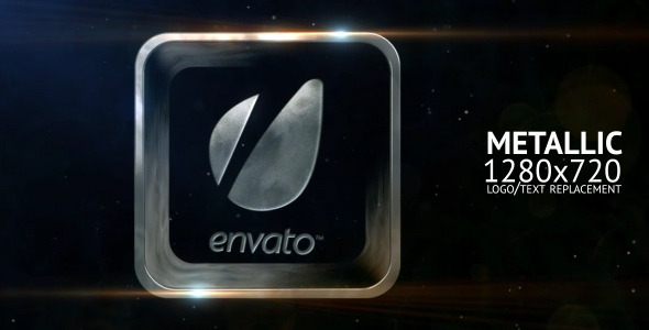 After Effects Project - VideoHive Metallic 1484819
