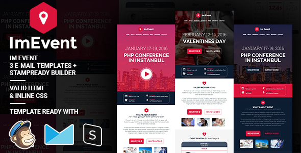 Imevent - Event Conference email template