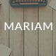 Mariam- Responsive Email + StampReady Builder