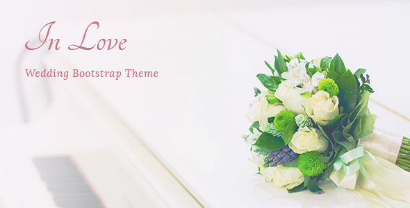 11. InLove - Responsive HTML Wedding Template