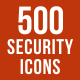 500 Security Icons Bundle