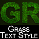 Grass and flowered grass text styles - GraphicRiver Item for Sale