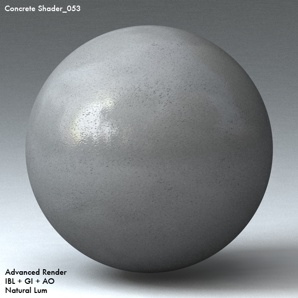 Concrete Shader_053 - 3DOcean Item for Sale