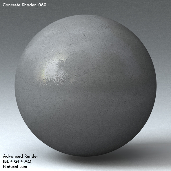 Concrete Shader_060 - 3DOcean Item for Sale