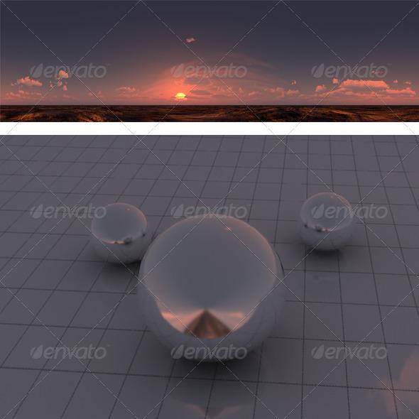 3DOcean M sunset 175943