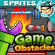 2D Game Obstacles Trees and Elements Pack02