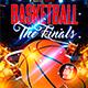 Basketball Finals Flyer Template