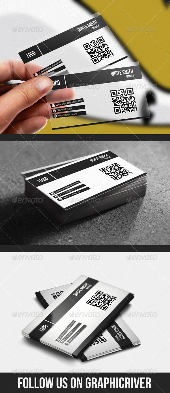 GraphicRiver Plastic & Normal Business Card 1486696