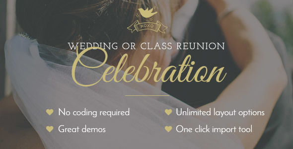 14 - Celebration - Wedding & Class Reunion Theme