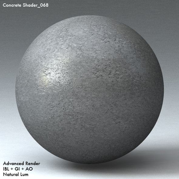 Concrete Shader_068 - 3DOcean Item for Sale