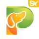 Pet Store Logo P Letter