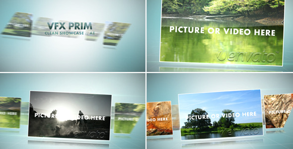 After Effects Project - VideoHive Clean Showcase 1487810