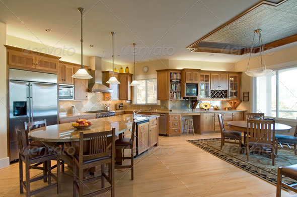 PhotoDune modern kitchen 1487952