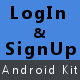 Login and Signup Kit For Android