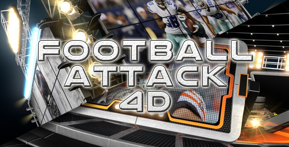 Download Football Attack 4D nulled download