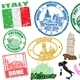 Stamps with Italy - GraphicRiver Item for Sale