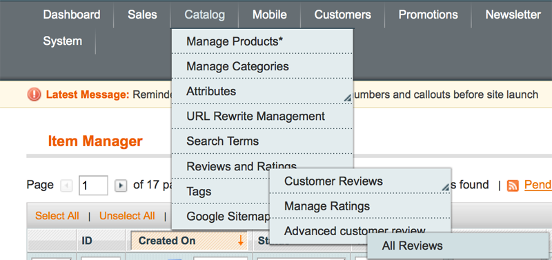 Advanced Customer Review/Import Product Review - 1