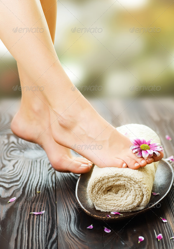 PhotoDune Spa Feet 1488356