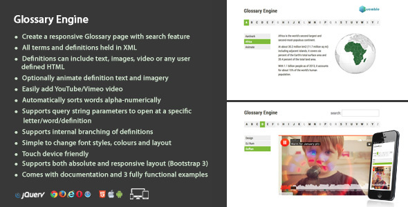 Download Glossary Engine nulled download