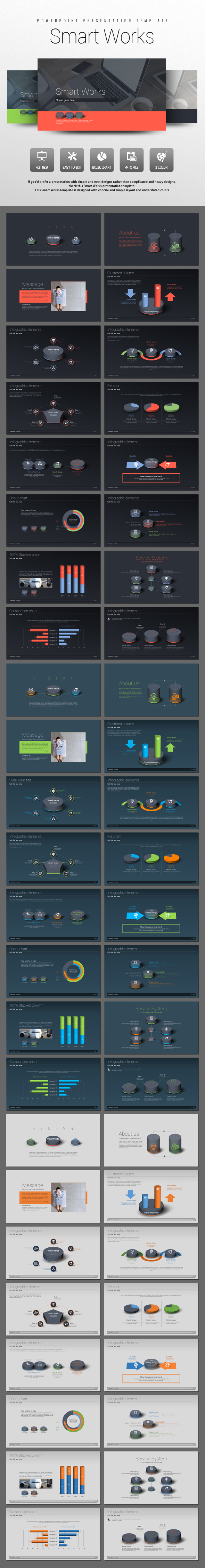 Smart Works (PowerPoint Templates)