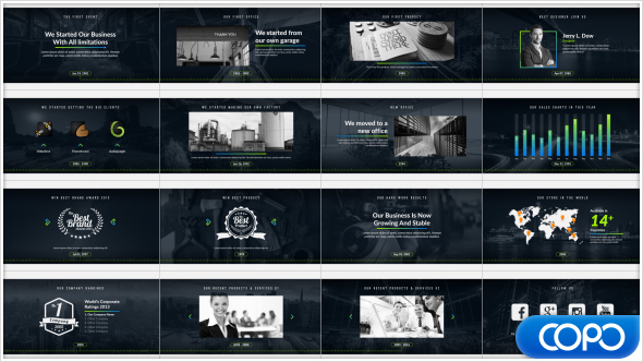 Company Timeline Corporate After Effects Templates F5 Design Com
