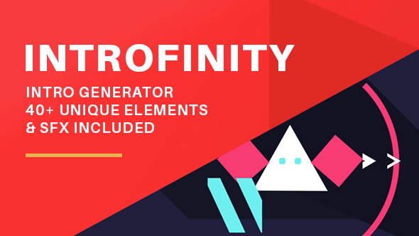 Download INTROFINITY - 2D Intro Generator nulled download
