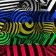 5 Zebra Colored 3D Backgrounds