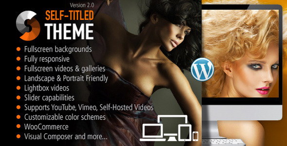 Self Titled - Responsive WordPress Theme