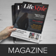 Magazine InDesign Template v2