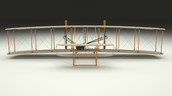 Animated Wright Flyer - 3DOcean Item for Sale
