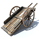 Low Poly Wild West Cart