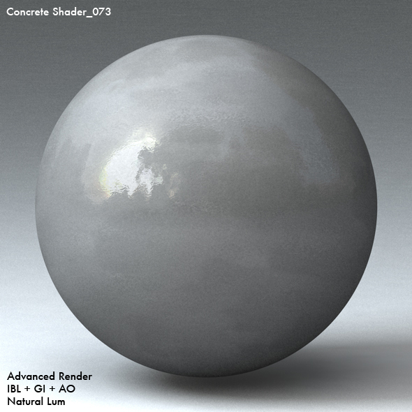 Concrete Shader_073 - 3DOcean Item for Sale