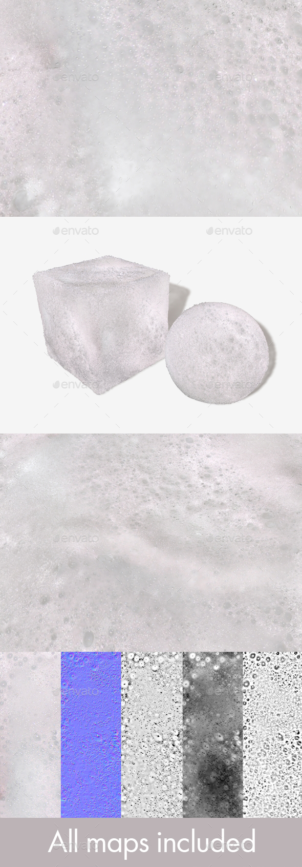 Bubble Bath Water Seamless Texture - 3DOcean Item for Sale